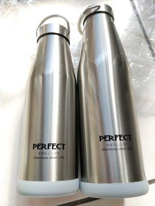 全新perfect 理想牌316 不鏽鋼保溫瓶900ml. 700ml