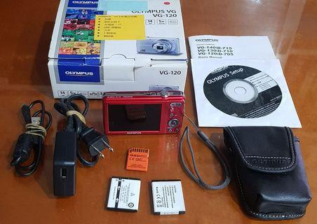 OLYMPUS VG-120數位相機