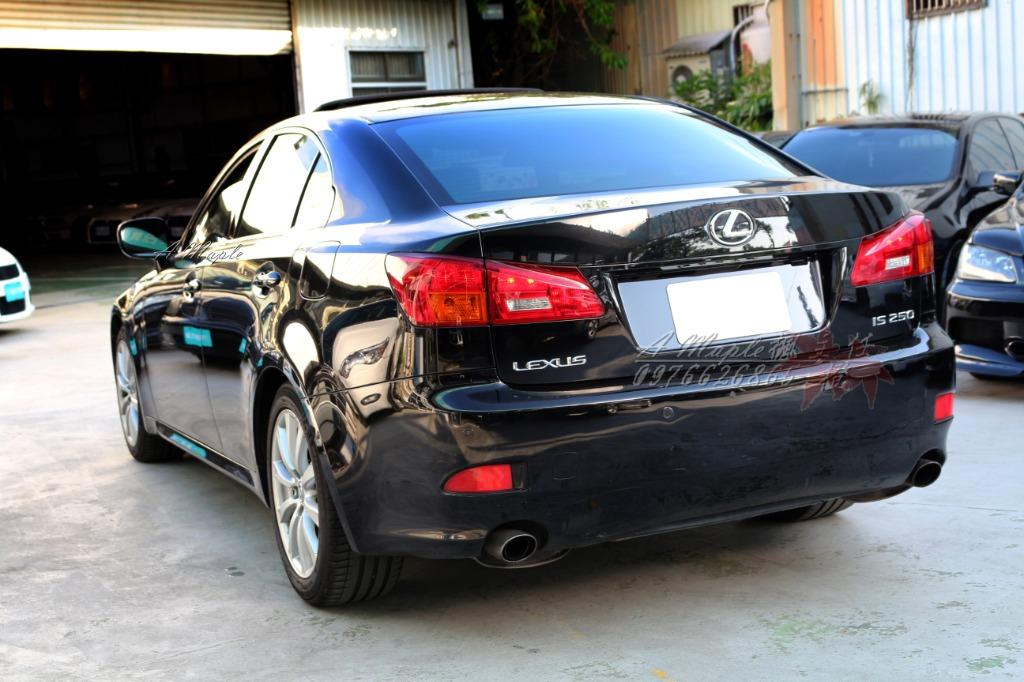 2005年 LEXUS IS系列 IS250 內外超美 如新 原廠無改/粉專→A Maple橙奕(非ES LS GS BMW BENZ AUDI