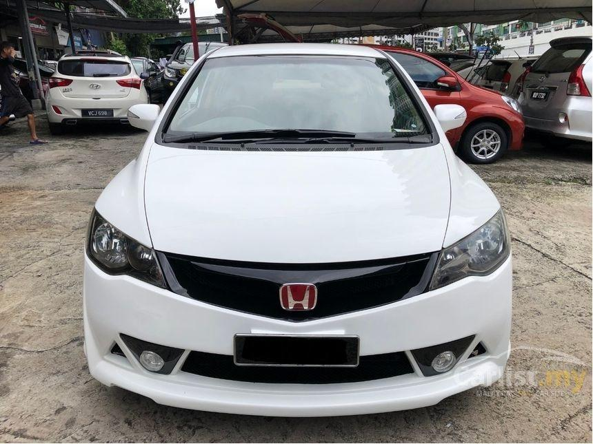 2009 Honda Civic 1.8 S (A) Facelift Mugen RR Bodykit Leather Seat Crystal White
