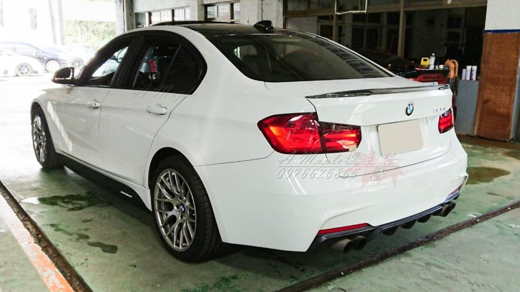 2012 BMW F30 328i 全車M版空力套件 18吋鋁圈 天窗 四出/粉專→A Maple橙奕(非M3 335 320 C300