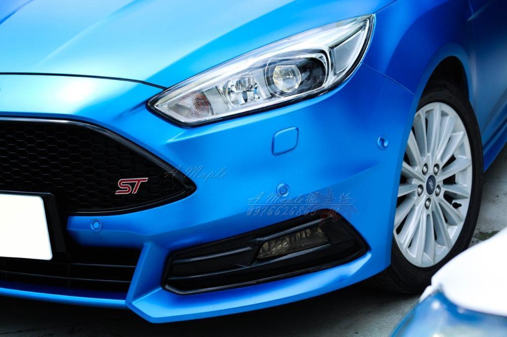 2016年 FORD FOCUS EcoBost 1.5T 消光藍 ST前大包 精品改/粉專→A Maple橙奕(非Mazda Altis k12 lancer