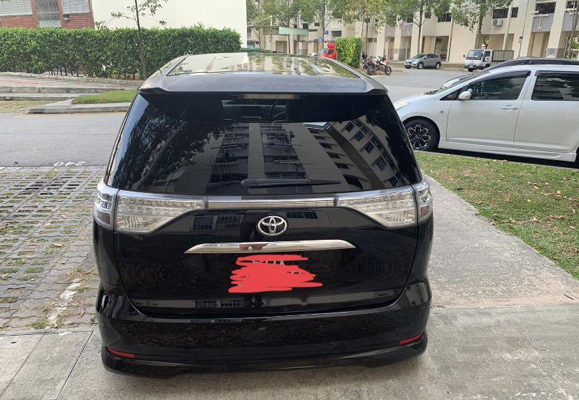 $490 per week 7 Seater Estima Ares G Edition  (everything covered)