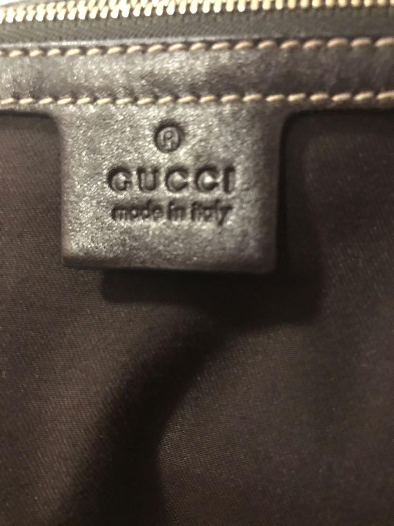 💯 Authentic Gucci Pelham Leather Studded Hobo Purse