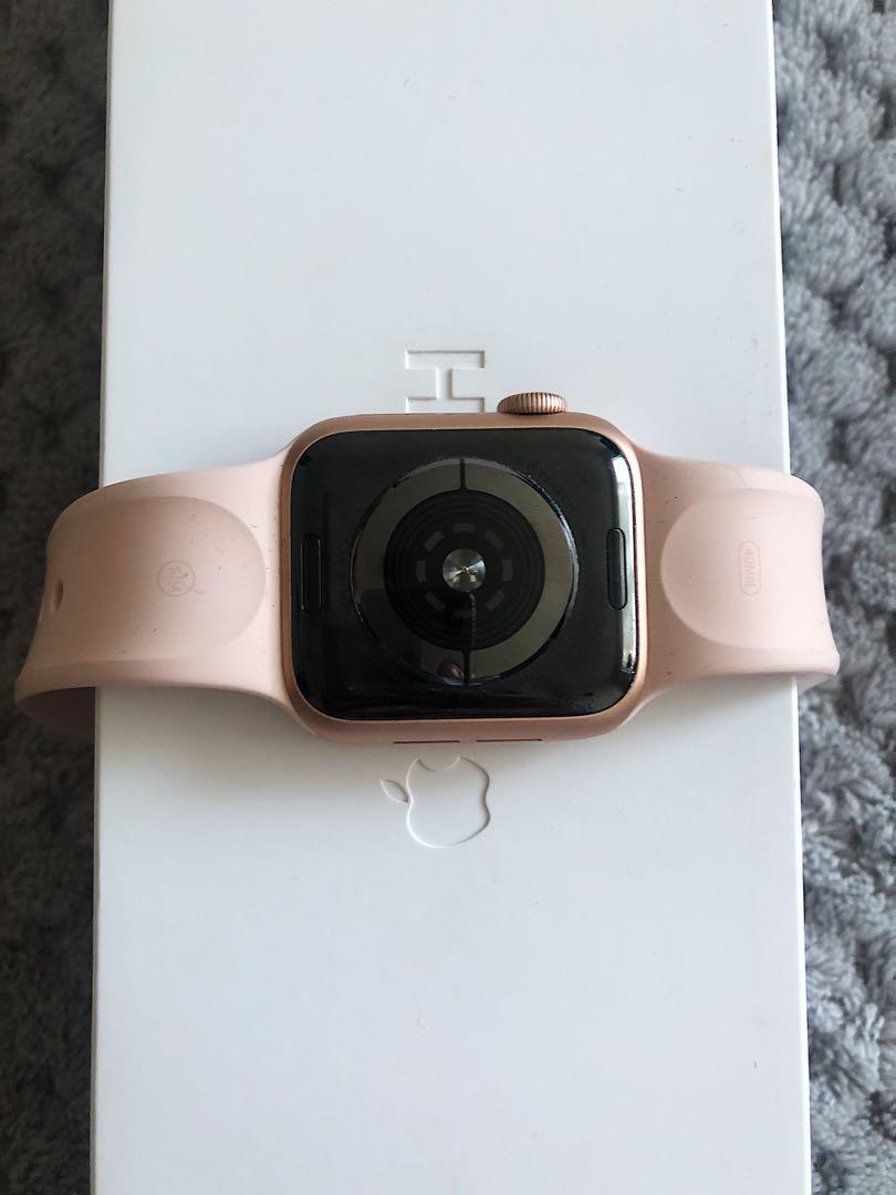 Apple Watch- Series 4 GPS+Cellular, Rose Gold (40mm)
