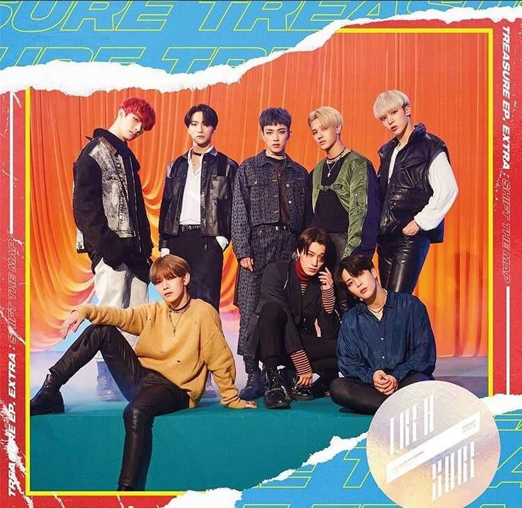 Ateez - Treasure Ep Extra : Shift The Map Japanese
