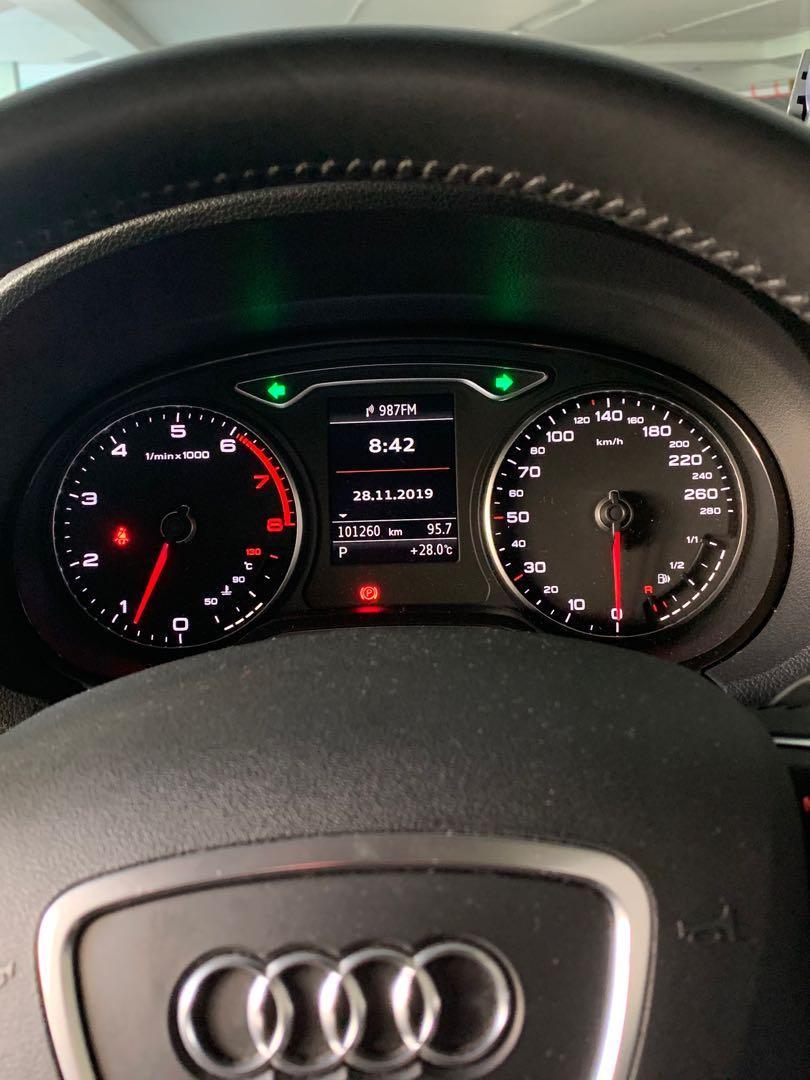 Audi A3 Sportback 1.4 TFSI S tronic 5-Dr Ambiente (A)