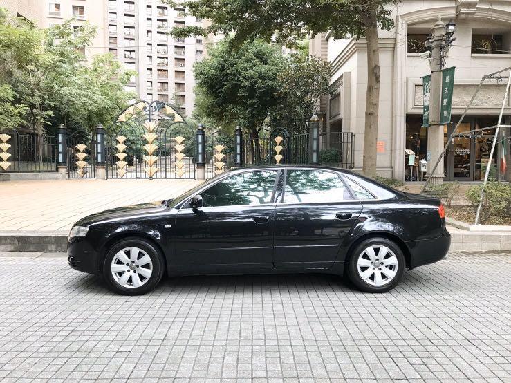 實車實價AUDI A4 1.8T省油省稅 好開又會跑