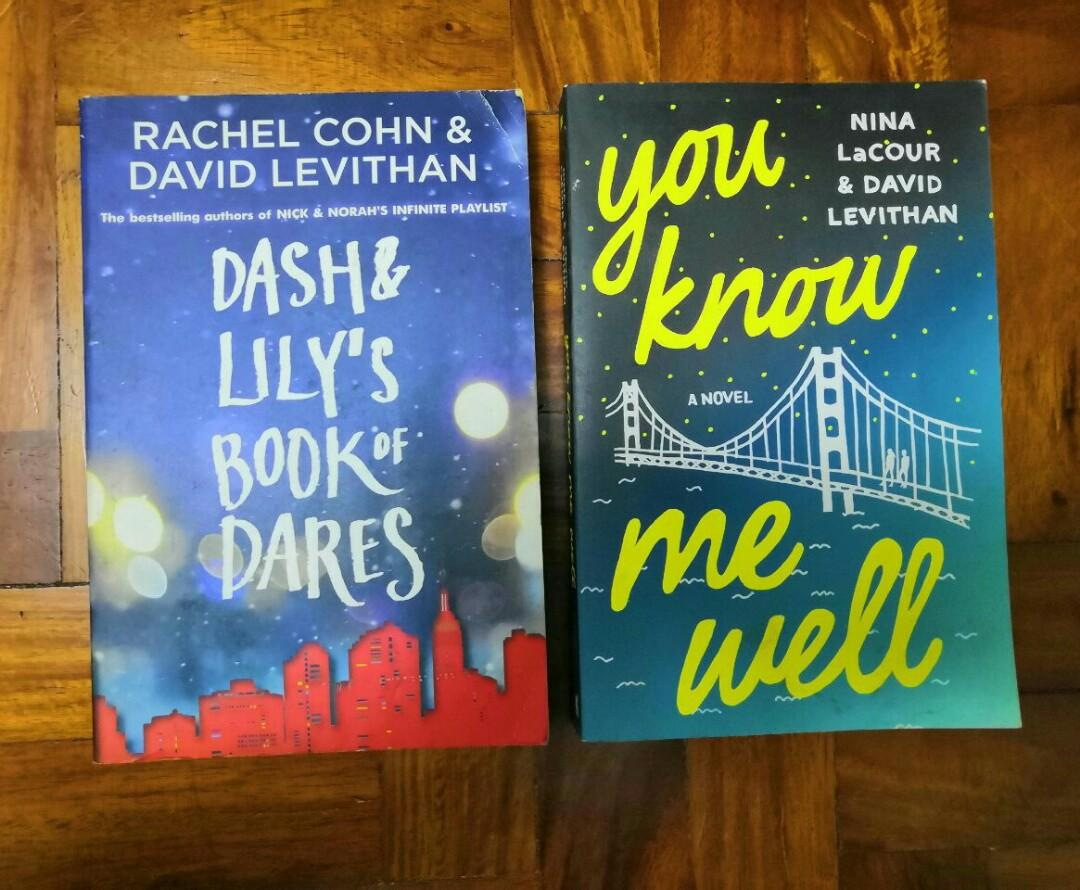 <Book> Bundle: David Levithan Books (Dash and Lilys / You Know Me Well)