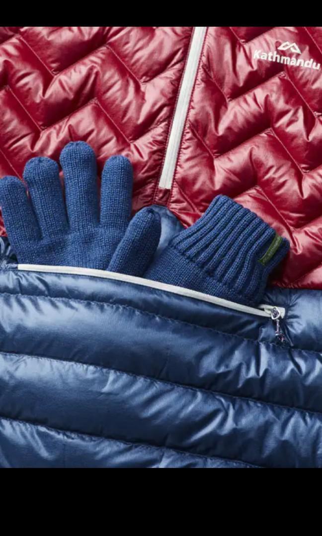 Brand new Kathmandu ultralight XL blue teal/ russet.