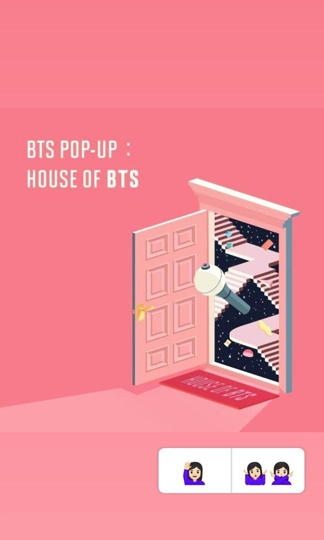(ORDER CLOSED) BTS POP UP HOUSE OFFICIAL MERCHANDISE