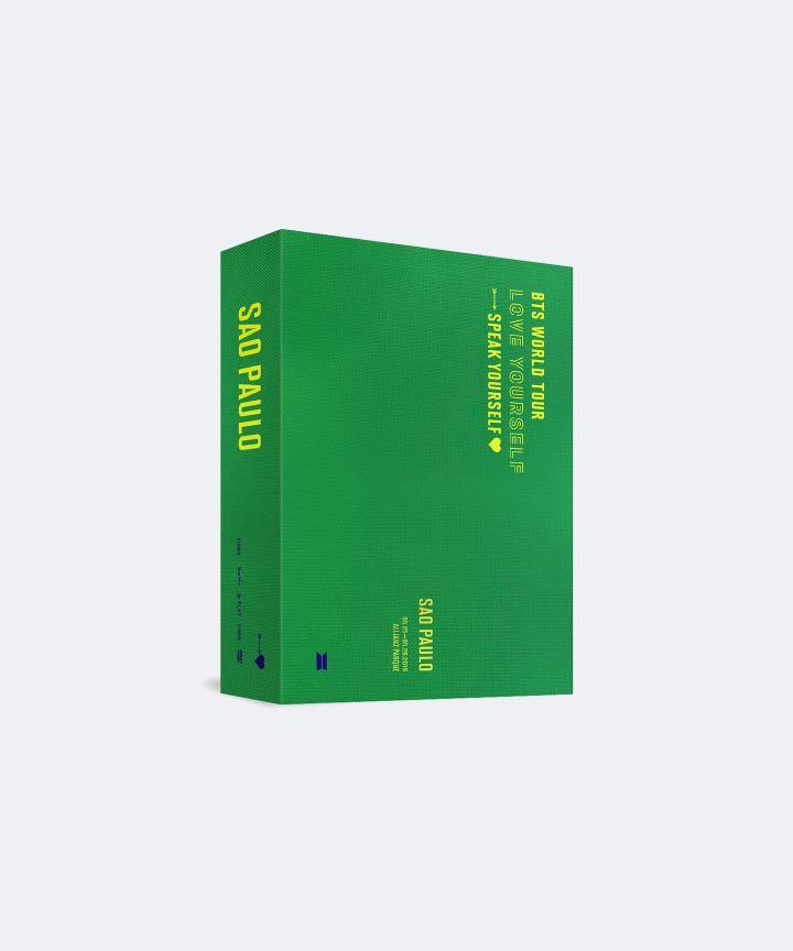BTS WORLD TOUR 'LOVE YOURSELF: SPEAK YOURSELF' SAO PAULO DVD