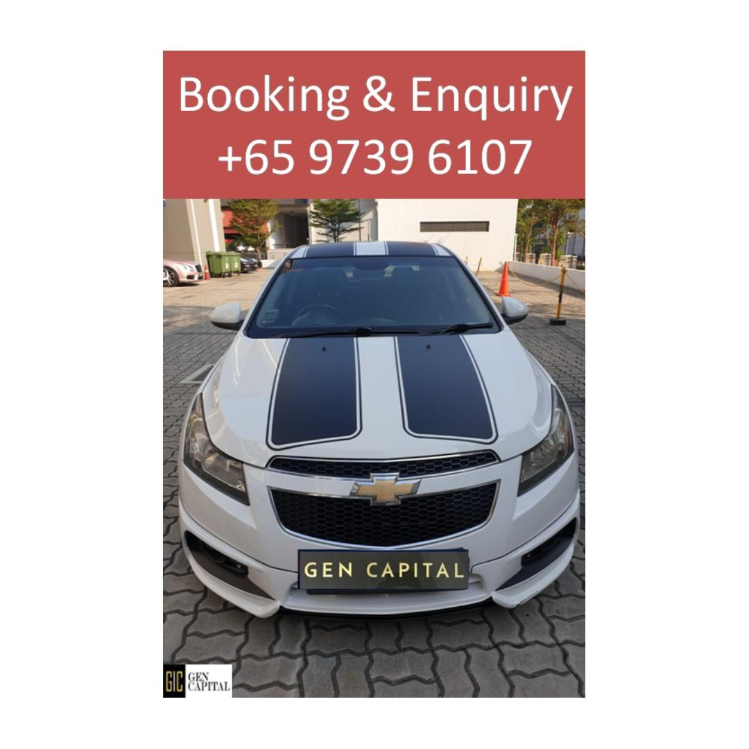 Chevrolet Cruze - Lowest rental rates, with the friendliest service!