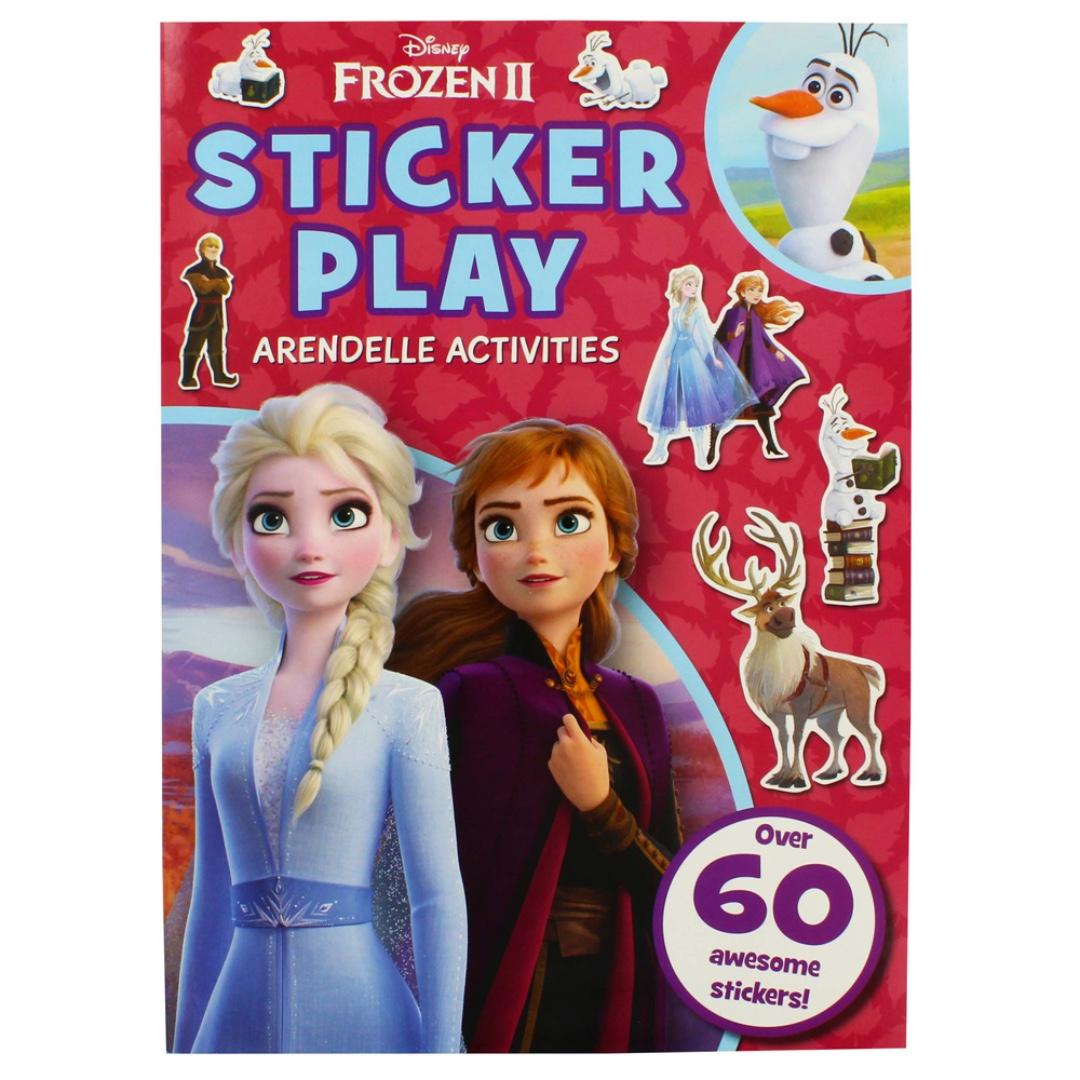 Disney Frozen II - Sticker Play | English | Activity Book | Children's Book