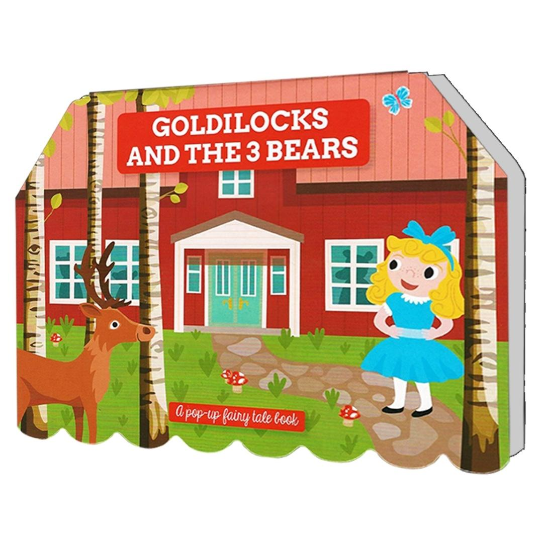 Goldilocks and the 3 Bears - A Pop-up Fairy Tale Book | English | Story Book | Children's Book