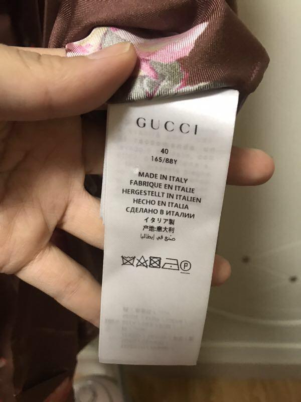 Gucci正品 桑蠶絲襯衫