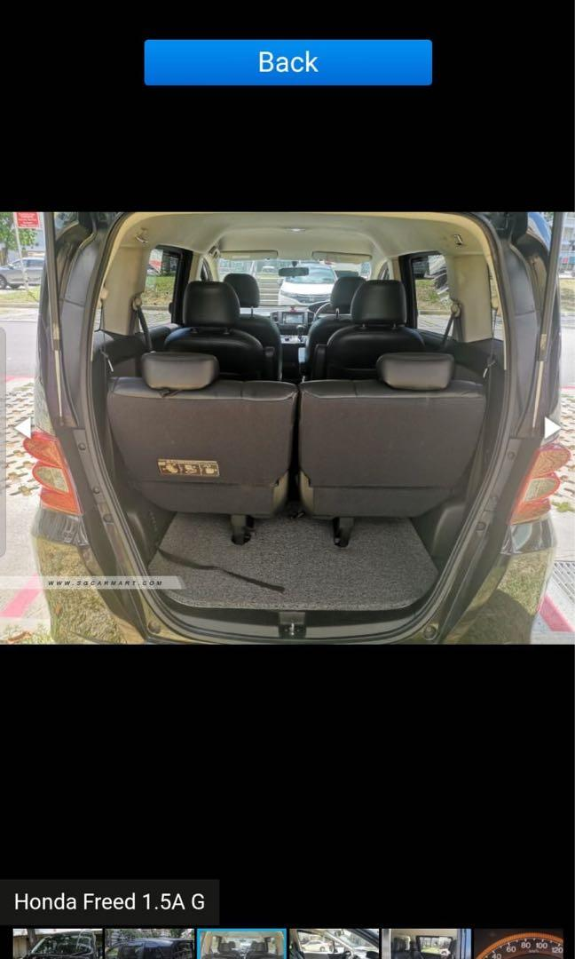 HONDA FREED RENTAL HONDA FREED GRAB RENTAL HONDA FREED GOJEK RENTAL HONDA FREED PERSONAL RENTAL