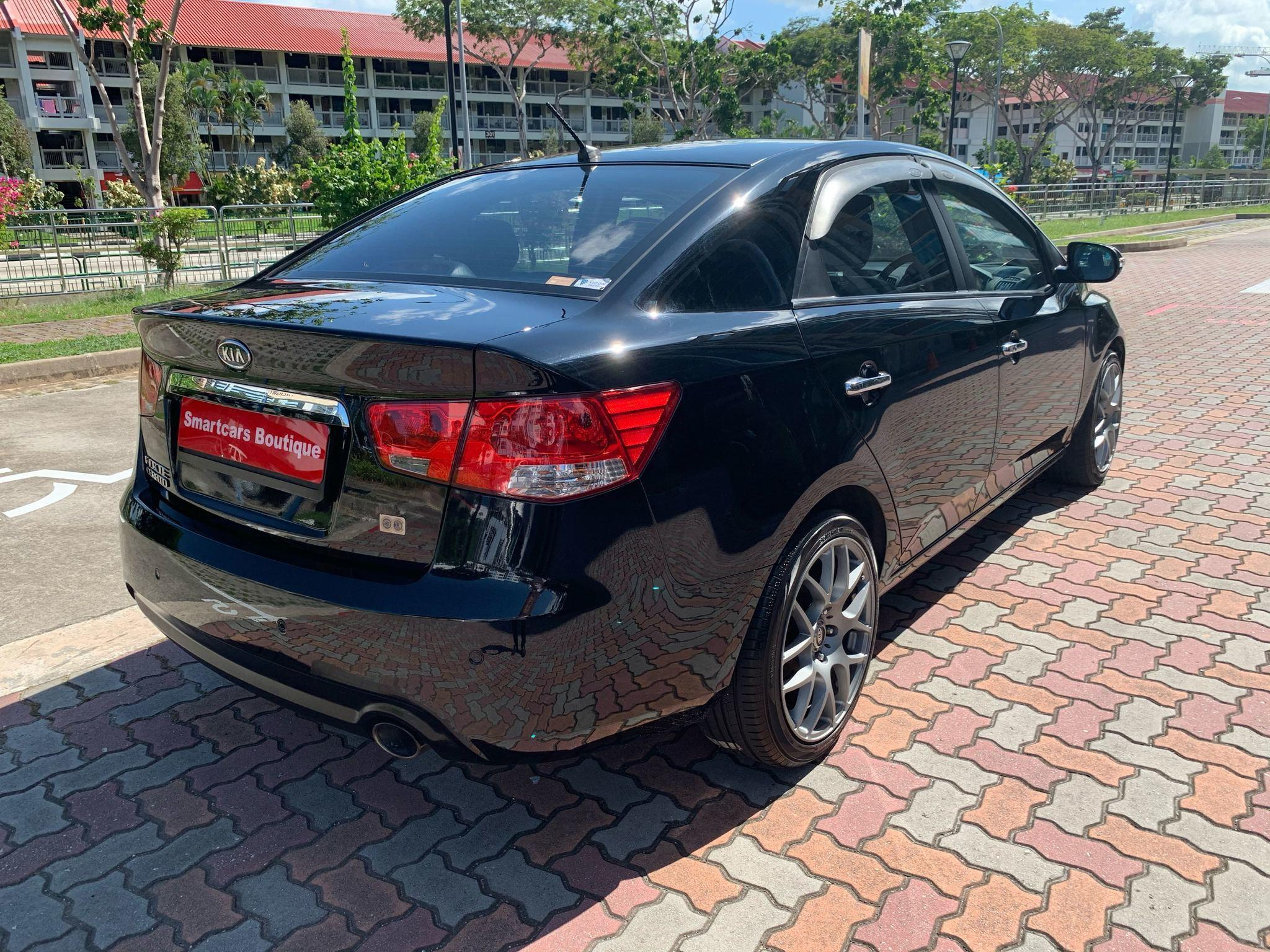 KIA CERATO FORTE 1.6SX AT ABS D