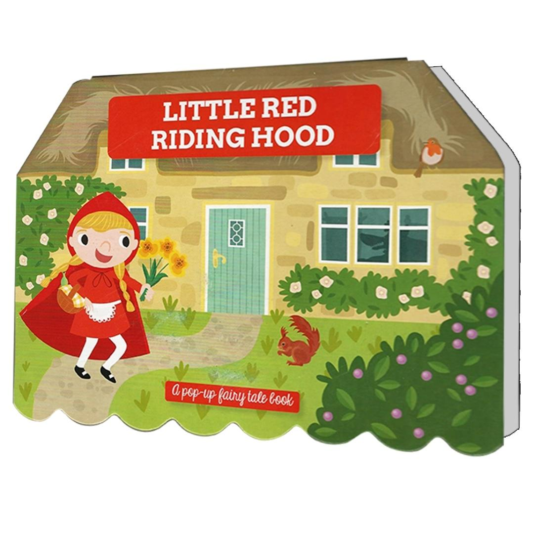 Little Red Riding Hood - A Pop-up Fairy Tale Book | English | Story Book | Children's Book