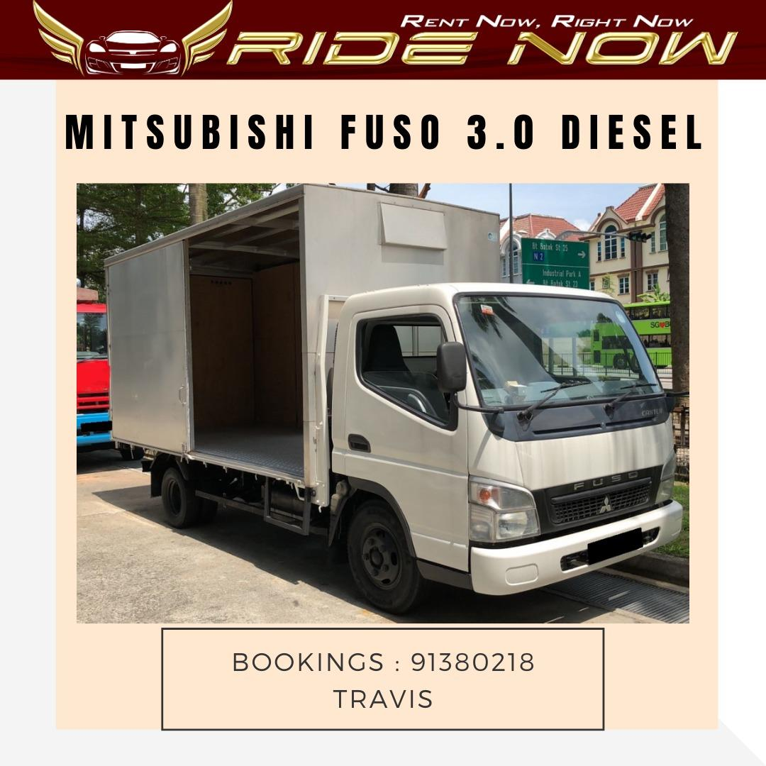 Mitsubishi Fuso 3.0 Diesel Commercial Vehicle for Long Term Leasing