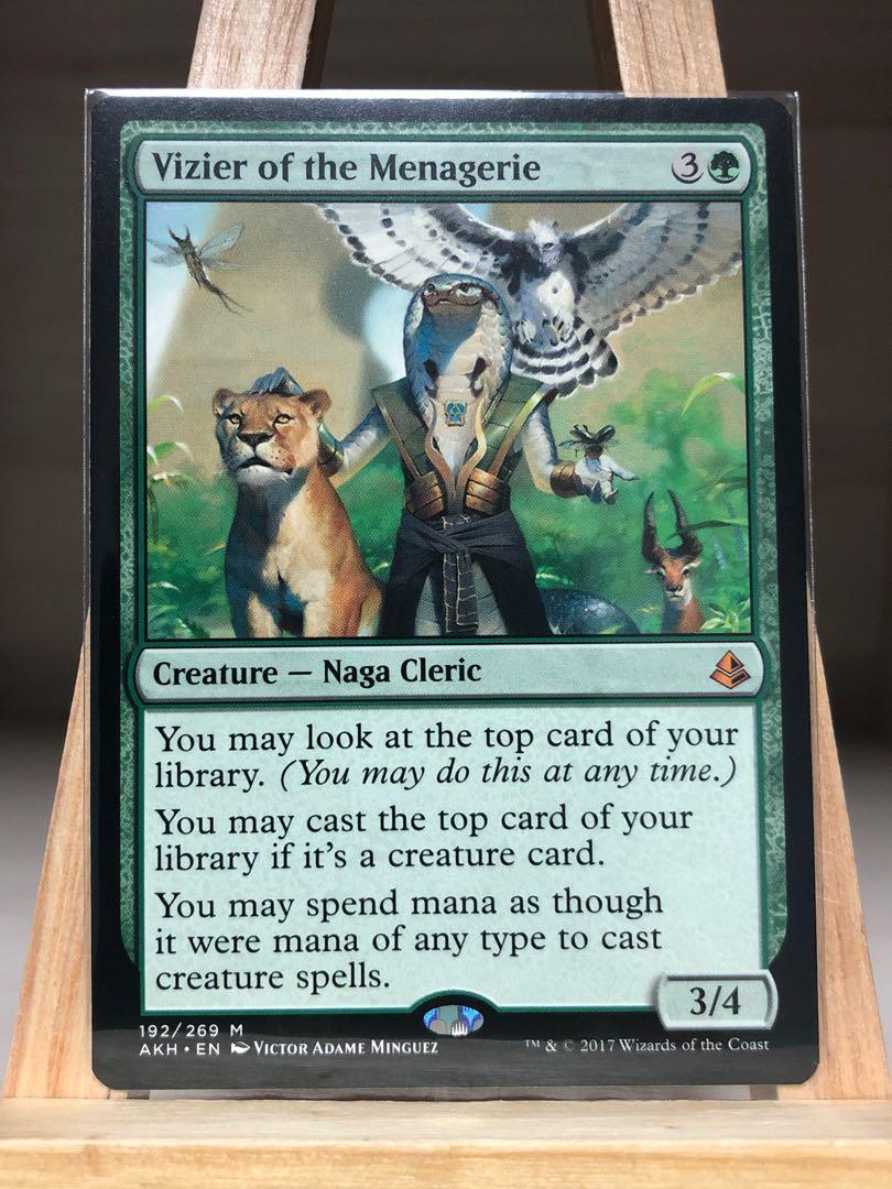 Vizier Of The Menagerie M//NM Magic The Gathering MTG Amonkhet