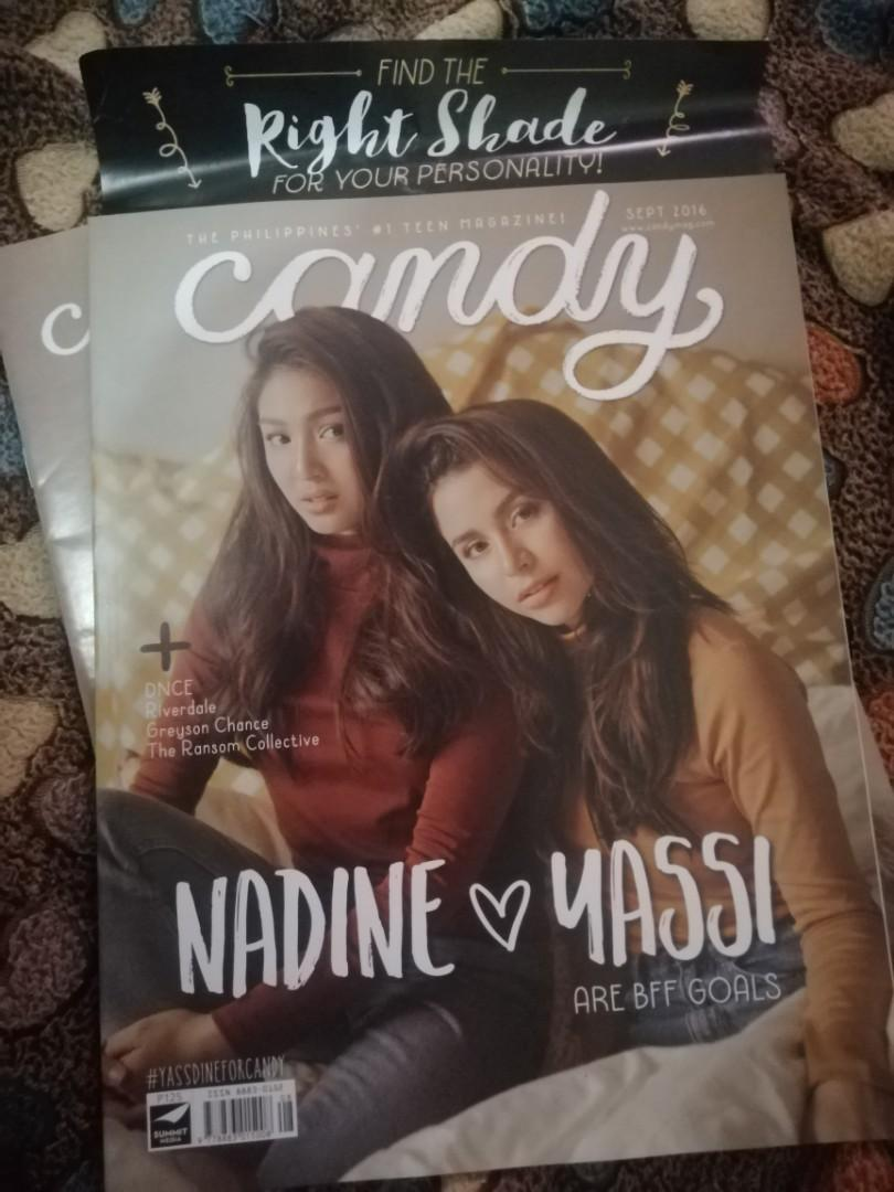 Nadine Lustre and Yassi Pressman Candy Magazine September 2016 Cover