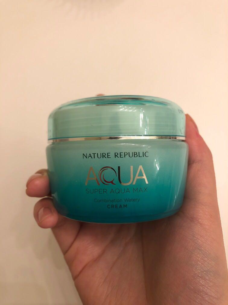 Nature republic super aqua max combination watery gel cream