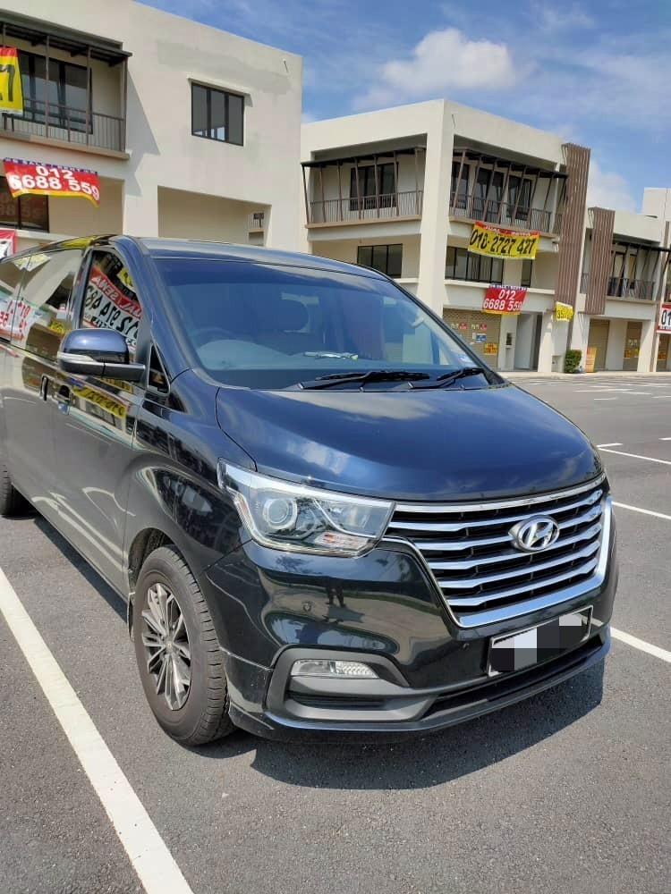 New Hyundai Grand Starex Royale 2.5 (A) Kereta Sewa MPV Selangor KL