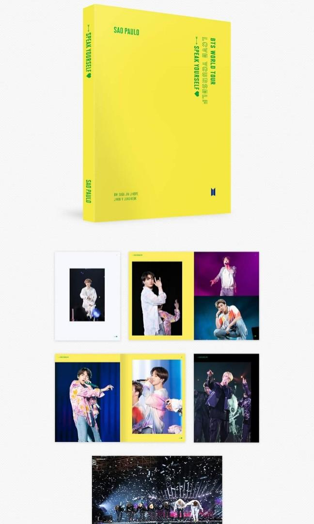 <PO> BTS 'LOVE YOURSELF: SPEAK YOURSELF' SAO PAULO DVD