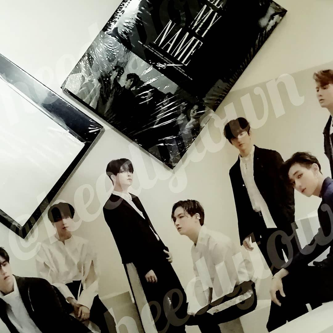 (READY STOCK) GOT7 - CALL MY NAME With Poster & Pre Order Benefit (Sealed)