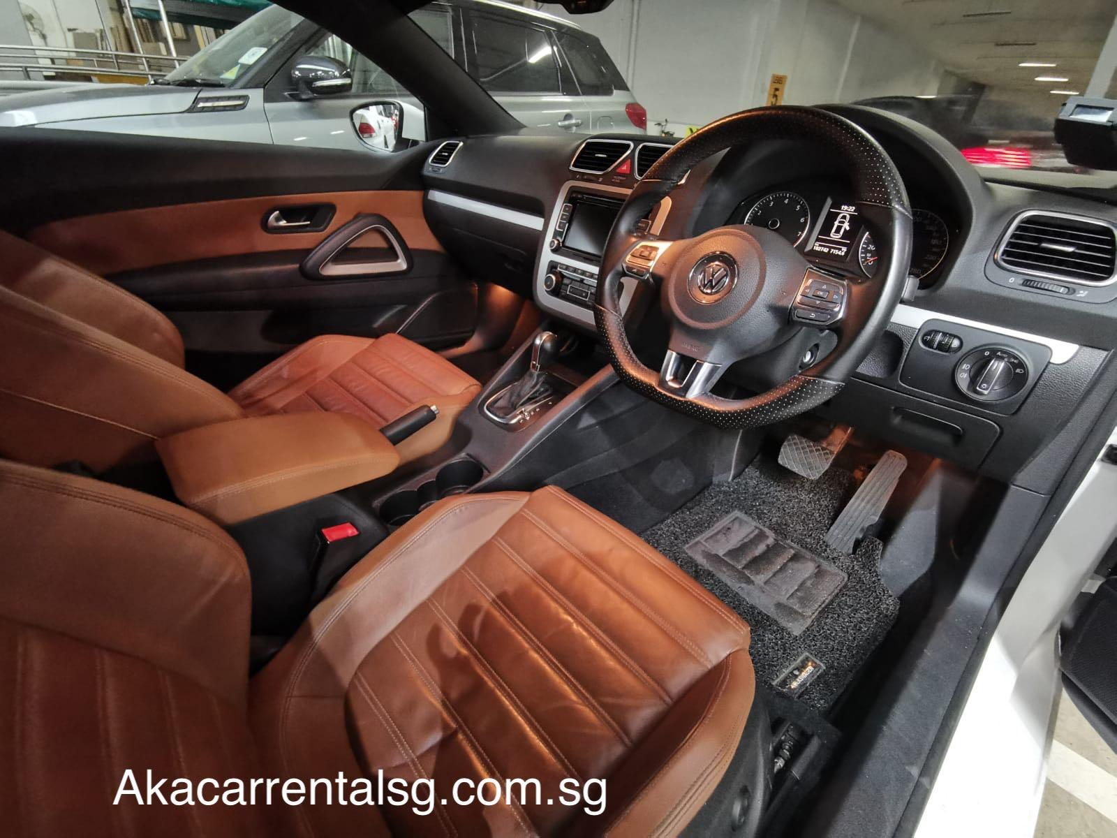 Scirocco for rental. Near Commonwealth mrt station