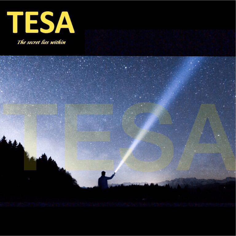 TESA TORCHLIGHT RECHARGEABLE FLASHLIGHT