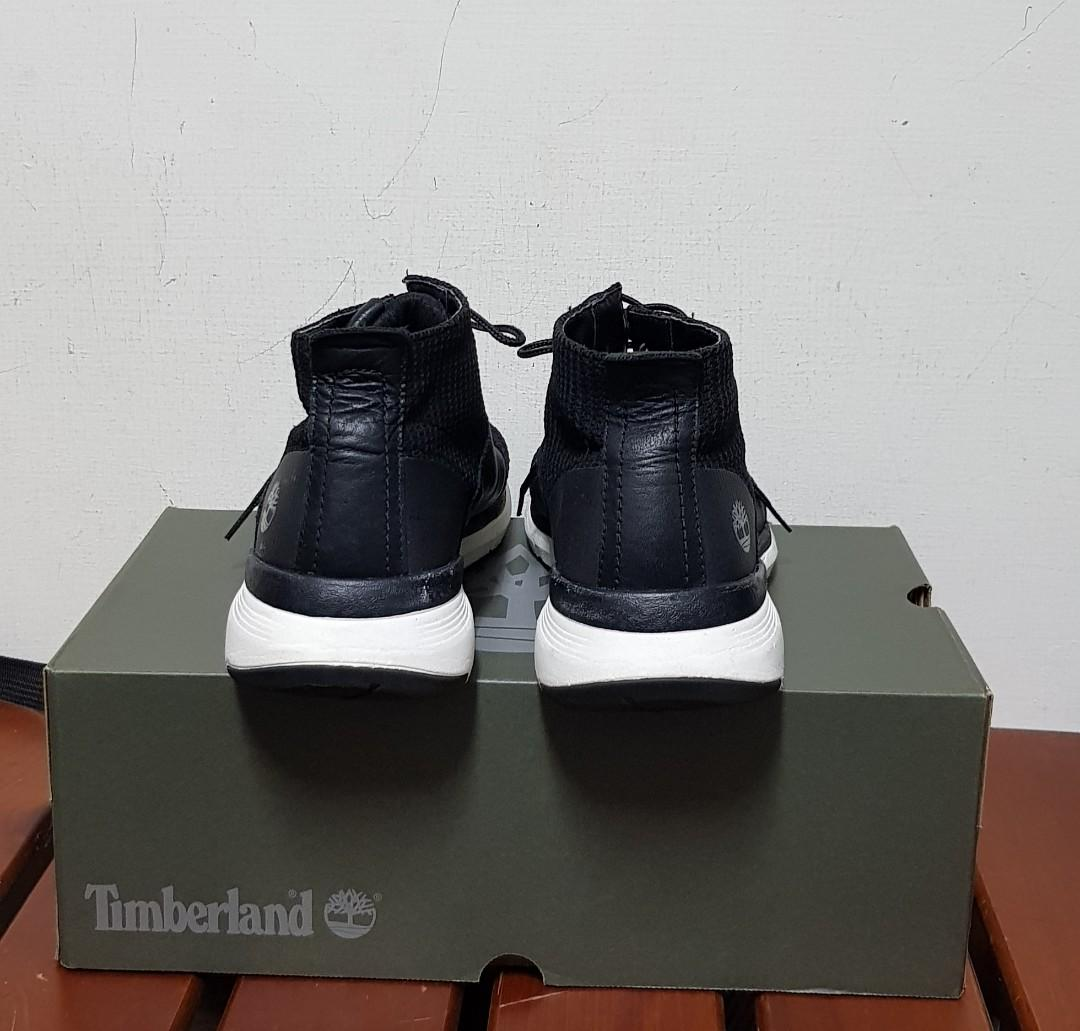 Timberland黑色中筒輕量休閒鞋/US 9.5