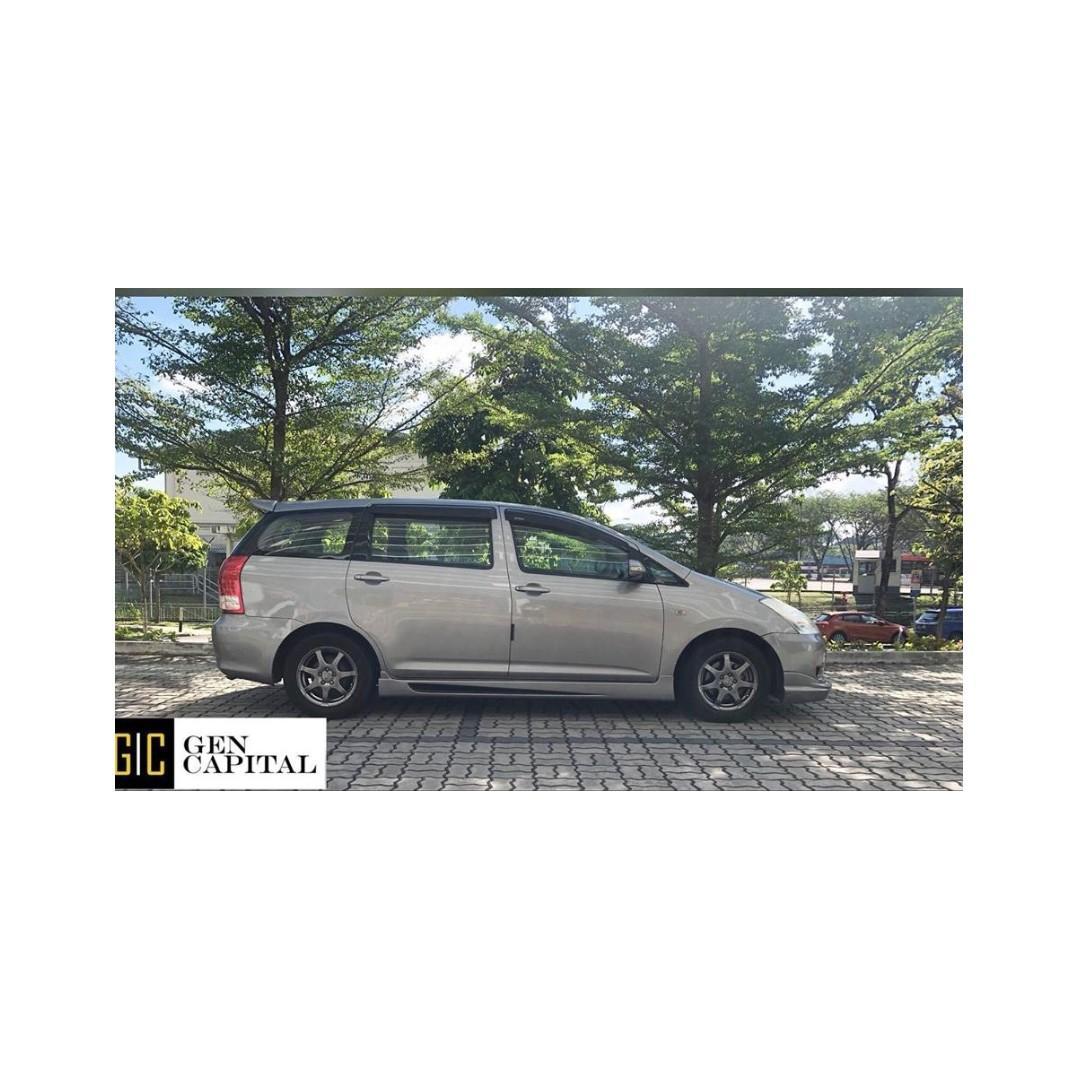 Toyota Wish - Wishing for cheap rental ? @ 97396107