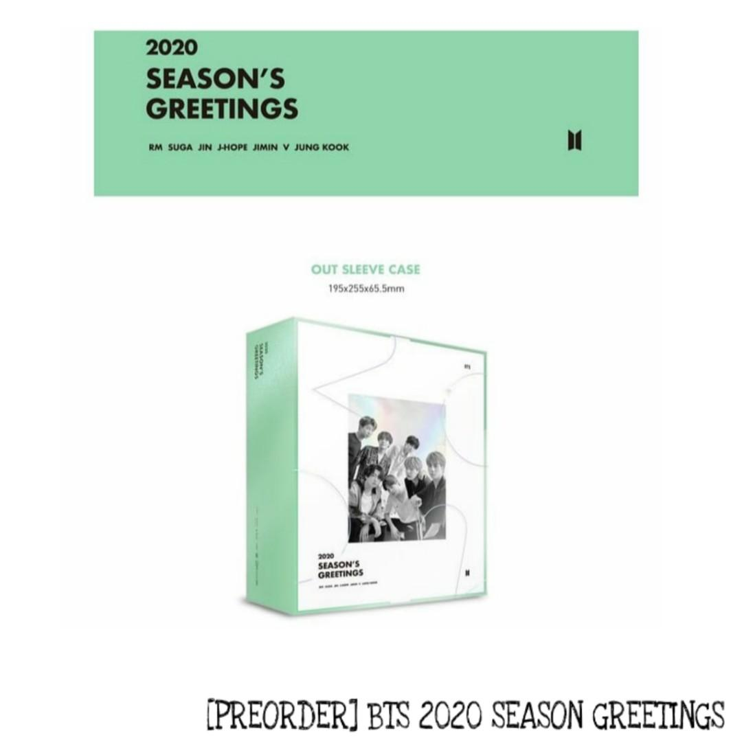 [UPCOMING READYSTOCK] LOOSE ITEMS BTS 2020 SEASON GREETINGS