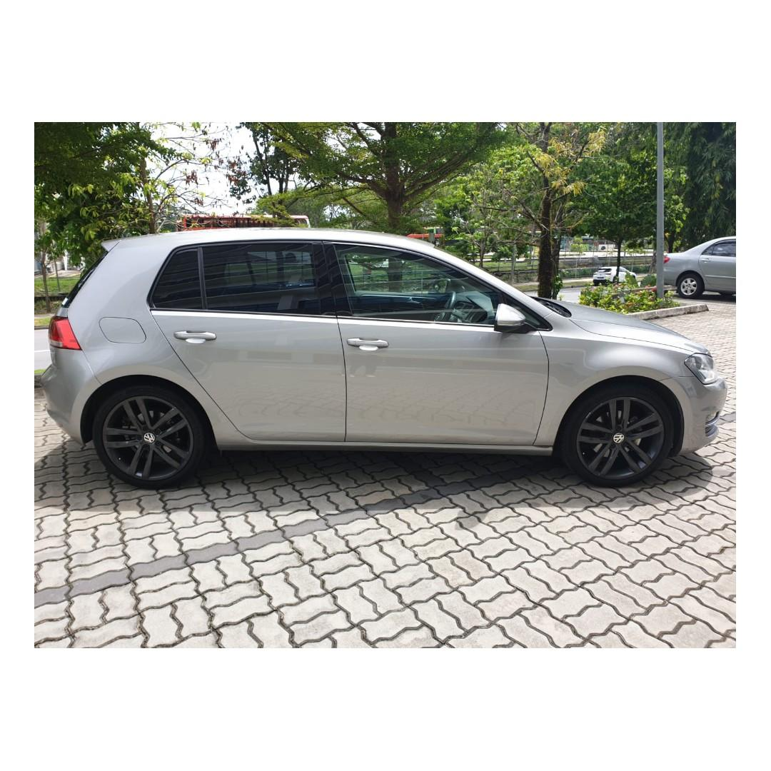 Volkswagen Golf - Always Getting a hole in one? You're An Natural For Volkswagen Golf.