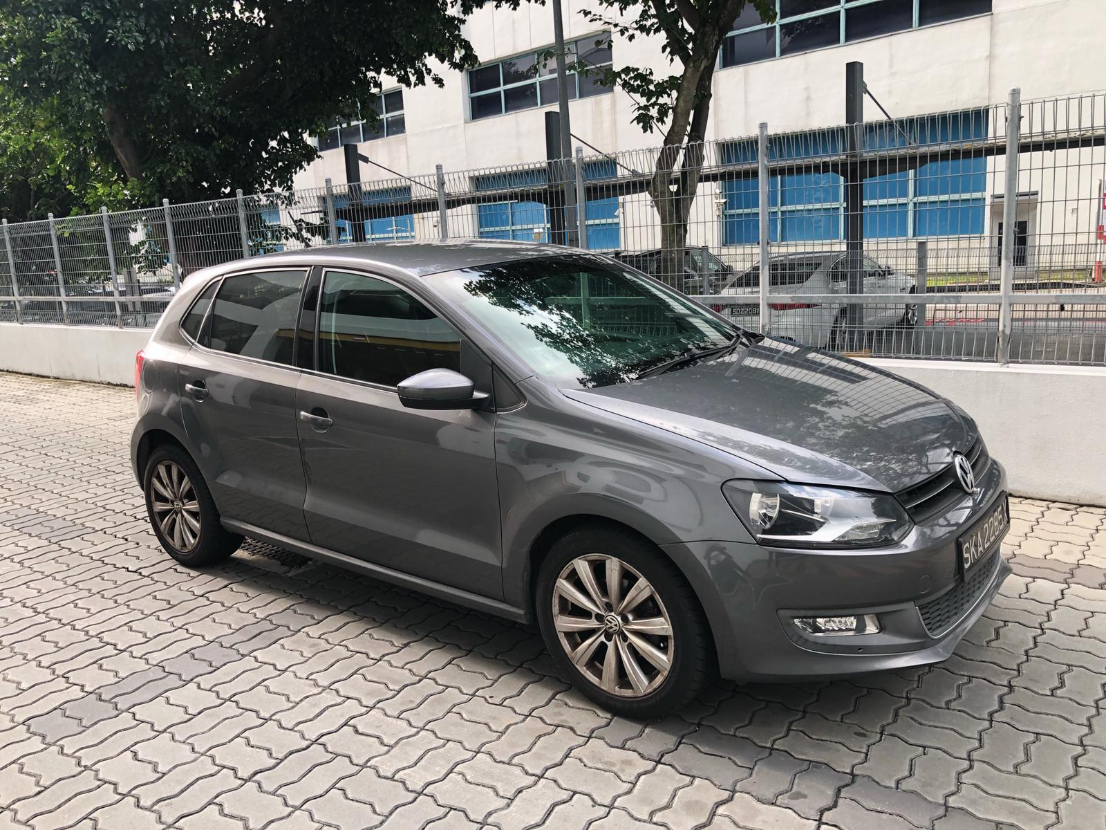 Volkswagen Polo $52+per day *top condition* cheaper conti car grab n gojek personal use incentive rebate honda toyota mazda