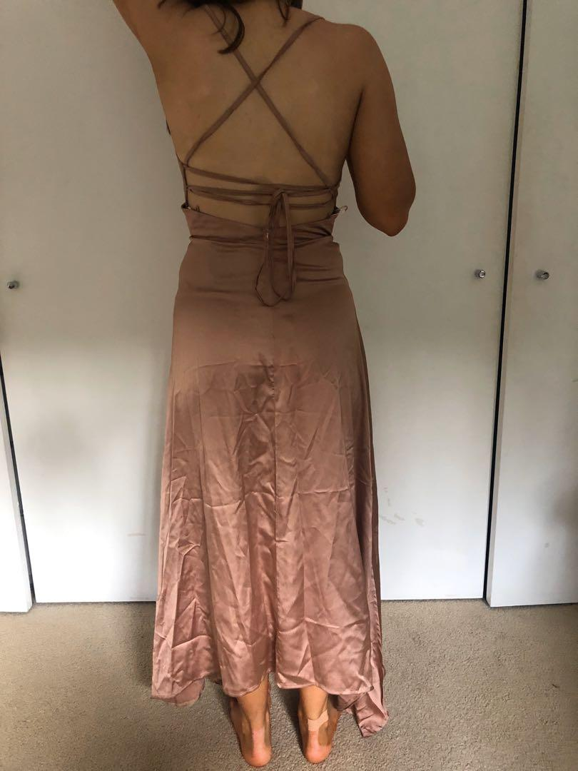 PRICEDROP Whitefox Camilla Maxi Dress Bronze (new)