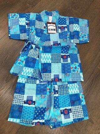 全新日本短袖套裝2歲