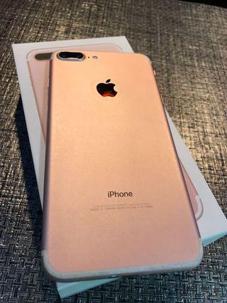 🔥馬克嚴選🔥超俗議價翻臉的iPhone 7 Plus 128GB 粉色
