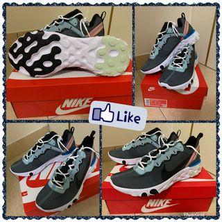 Nike React Element 55 US10 全新品 誠可小議