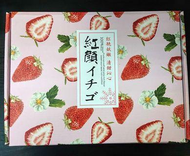 """水果中的紅寶石 """"大湖草莓"""" 💞24入禮盒版💞"""