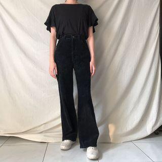 Wrangler Corduroy Pants Celana Vintage Thrift Shop Thriftshop