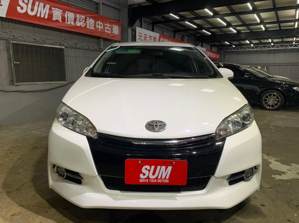 2010年 Toyota Wish 2.0G 白到不行