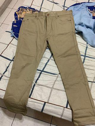 Dickies 38x30卡其工作褲 (未下過水)