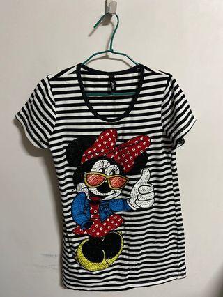 米妮  t-shirt