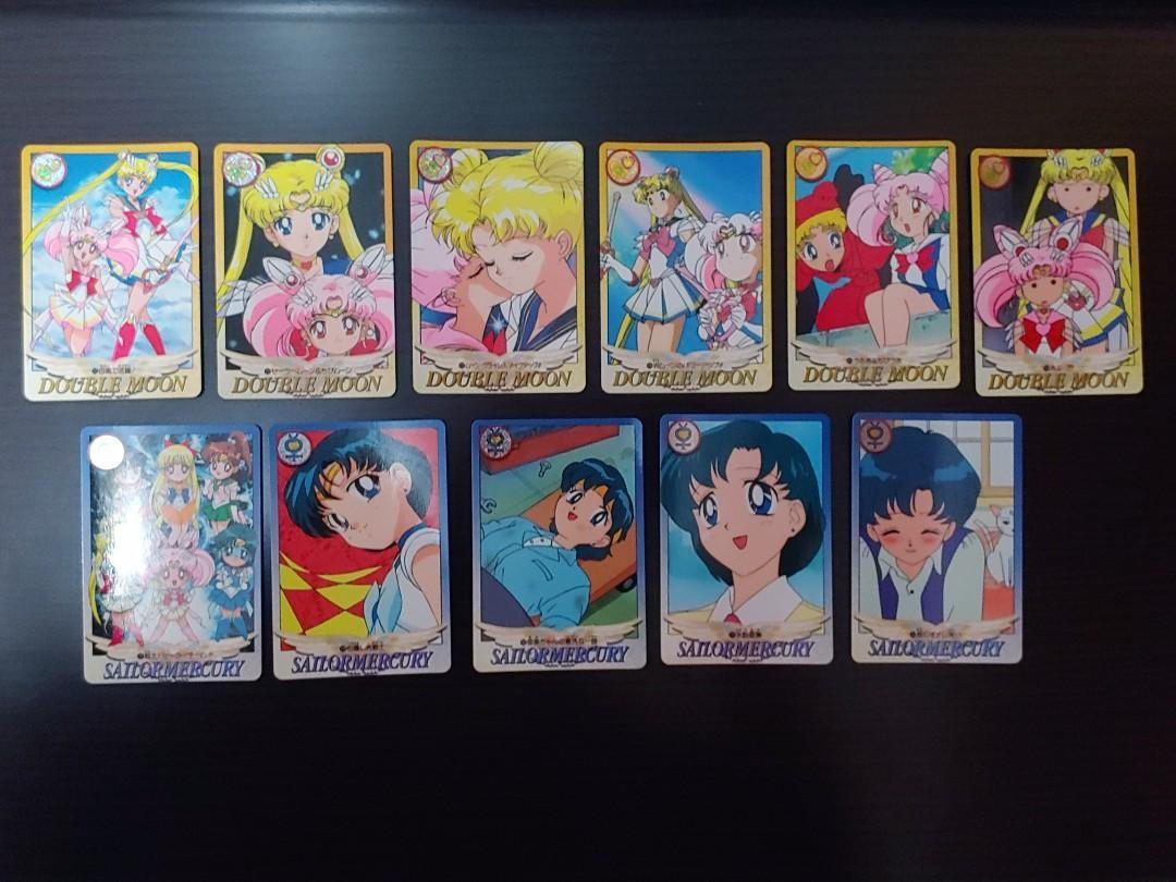 美少女戰士卡 (1995) 36張