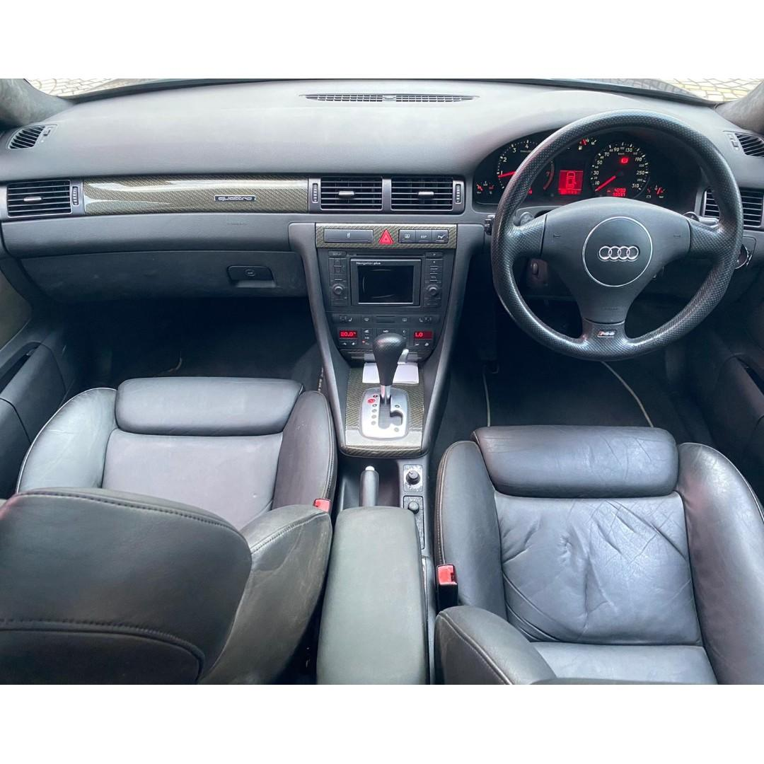 AUDI RS6 4.0T 2002