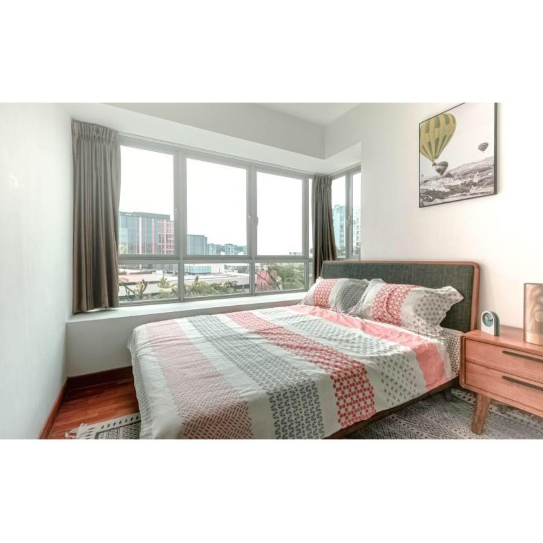 Beautiful condo rooms for rent walking distance to Paya Lebar MRT at Esta Ruby Condo