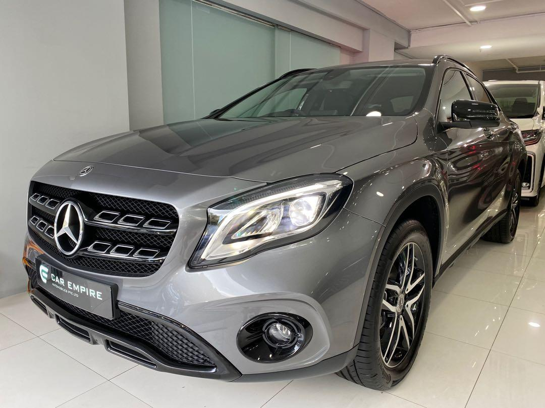 Brand new Mercedes Benz GLA180
